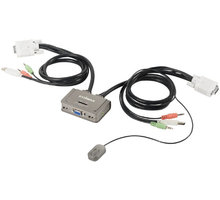 Kabllo Edimax USB Audio KVM Switch